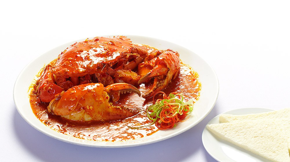 Fried Curry Crab in Singapore Style